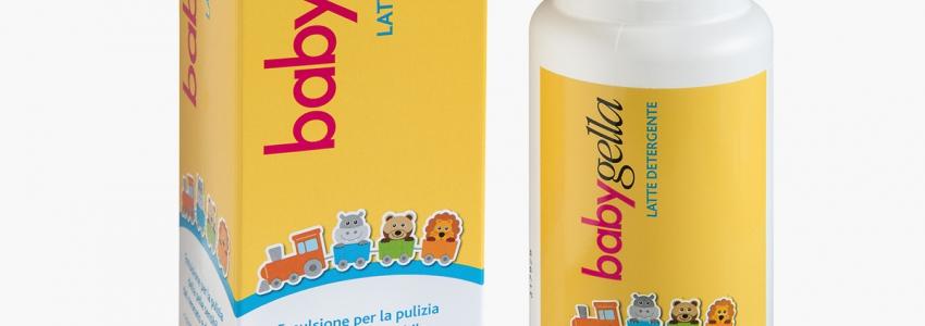 Babygella - Latte detergente, 200ml