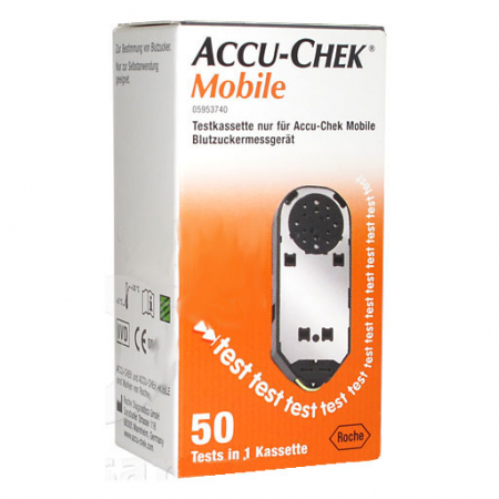 Accu-Check Mobile, 50 test in cassetta