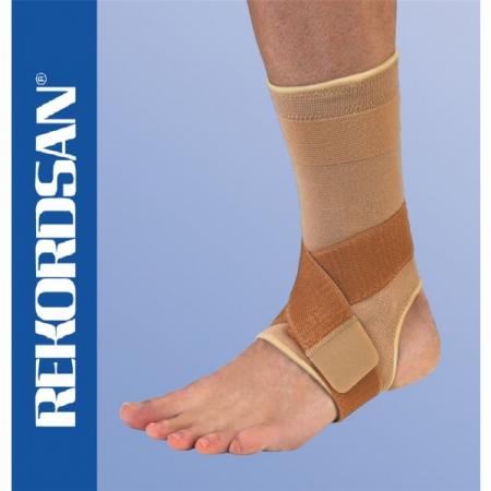Rekordsan - Cavigliera elastica a doppia forza anti-slip