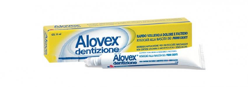 Alovex dentizione gel, 10 ml