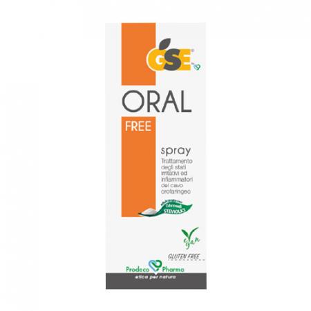 Gse - Oral Free Spray, 20 ml