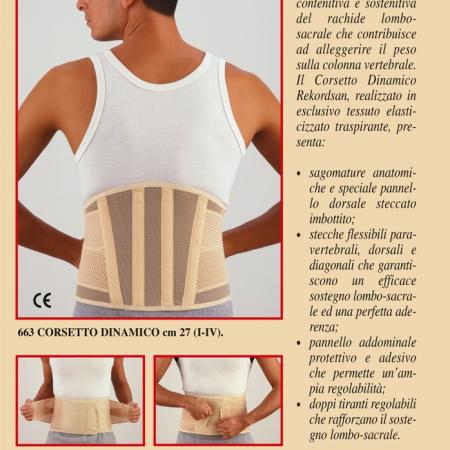 rekordsan corsetto dinamico