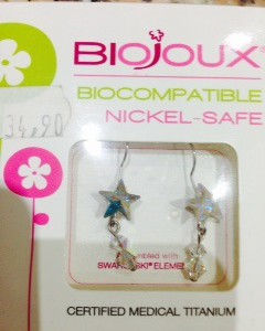 orecchini monachella stella boreale