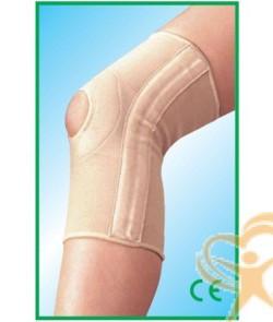 ginocchiera elastica speccial steccata con foro rotuleo