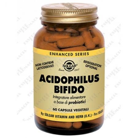 ACIDOPHILUS BIFIDO, 60 capsule vegetali