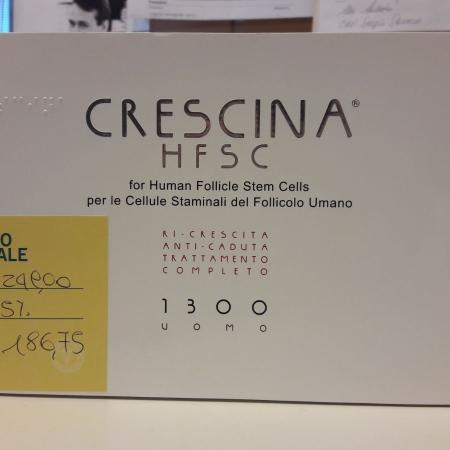 CRESCINA HFSC 1300 uomo, 20+20 fialette