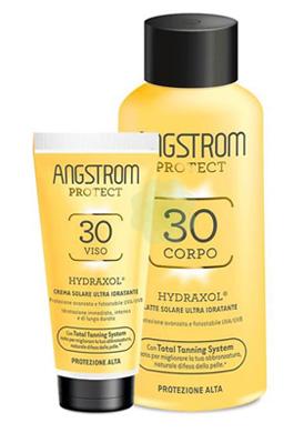 Angstrom - latte solare ultra idratante + crema solare ultra idratante