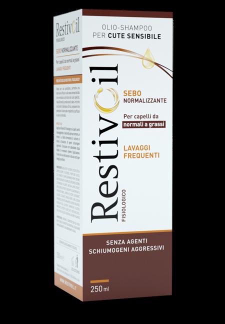Restivoil - Lavaggi frequenti sebonormalizzante, 250ml