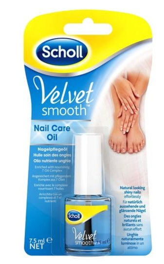 Scholl Velvet Smooth - olio nutriente unghie 7,5ml