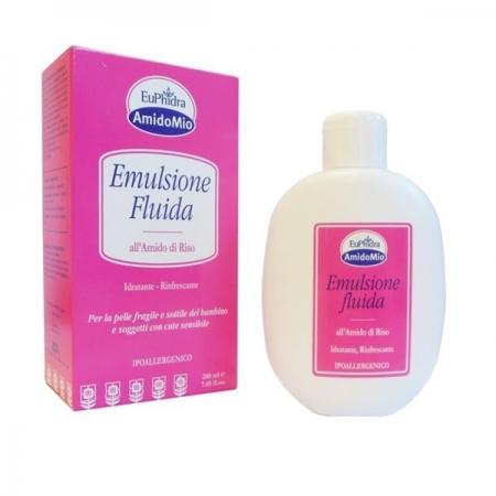 Euphidra - AmidoMio, Emulsione Fluida all'Amido di Riso