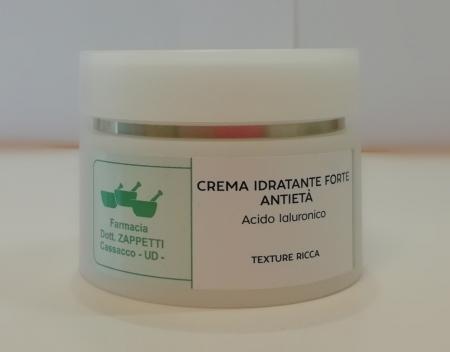 Farmacia Zappetti - Crema Idratante Forte Antietà, texture ricca