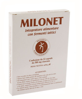 Bromatech - Milonet, 12 compresse