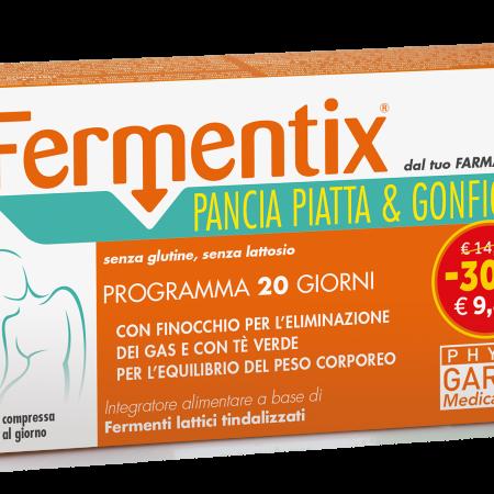 Phyto Garda - Fermentix Pancia Piatta e Gonfiore, 20 compresse