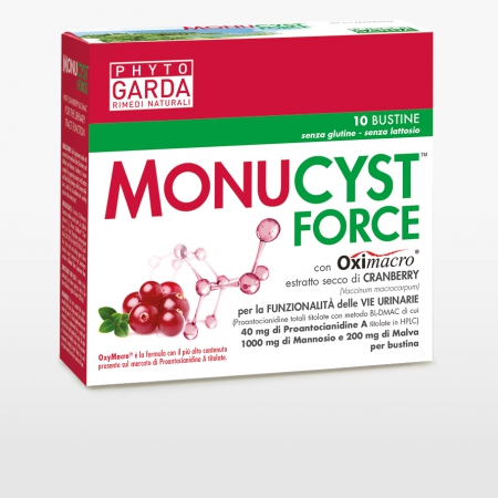 Phyto Garda - Monucyst Force, 10 bustine