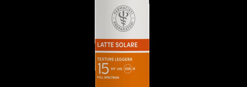 Farmacia Zappetti - Latte solare SPF 15