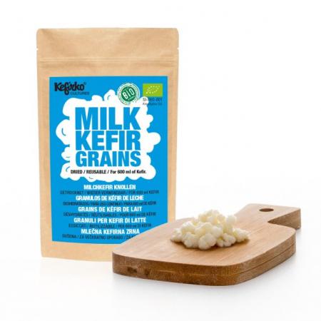 Kefirko - Granuli puri per il Kefir di latte