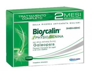 Bioscalin Physiogenina, 60 compresse (trattamento completo 2 mesi)