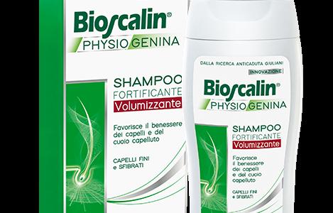 Bioscalin Physiogenina - Shampoo fortificante e volumizzante