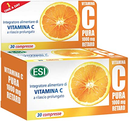 Esi - Vitamina C pura 1g retard, 30 compresse