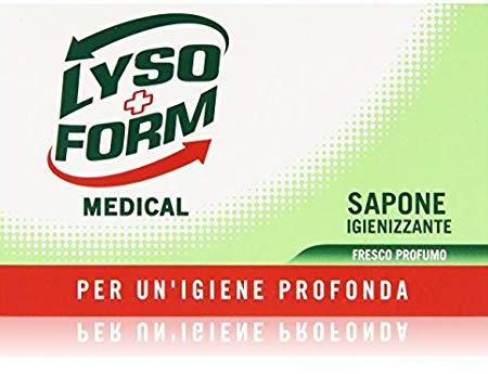 LysoForm Medical - Sapone igienizzante, 125 g