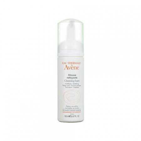 Eau Thermale Avene – Mousse detergente, 150 ml