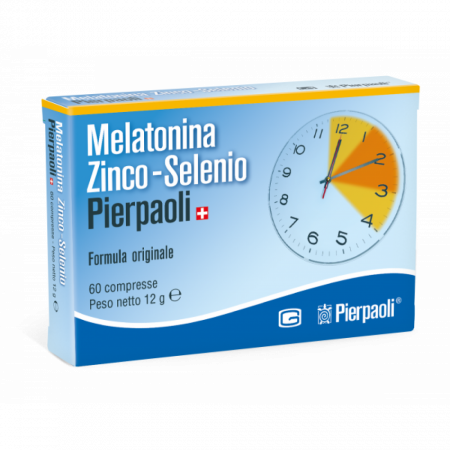 Melatonina Zinco-Selenio Dr Pierpaoli, 60 compresse