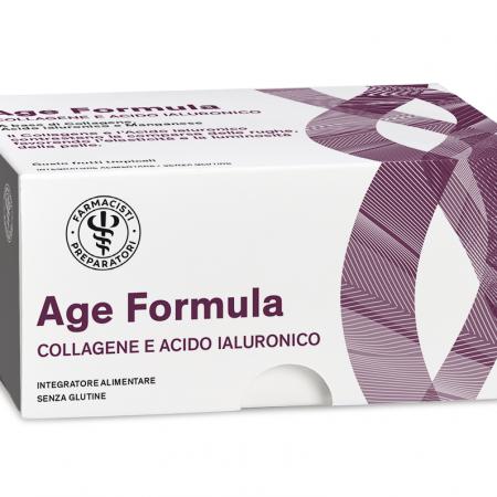 Farmacia Zappetti - Age Formula Collagene con Acido Ialuronico, 20 flacontini da 12 ml