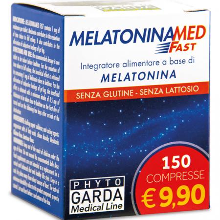 MelatoninaMed Fast, 150 compresse