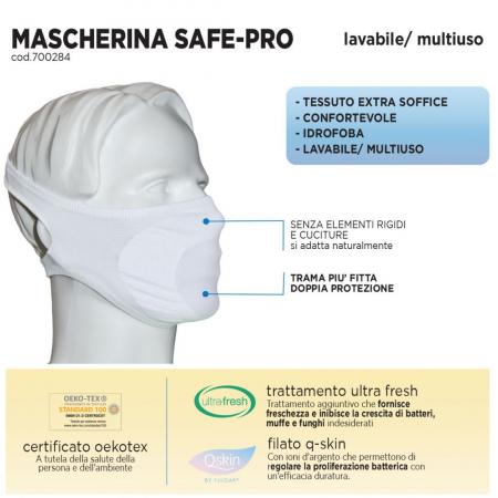 Mascherina lavabile Safe-Pro